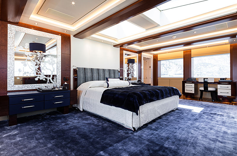 Tranquility yacht interior