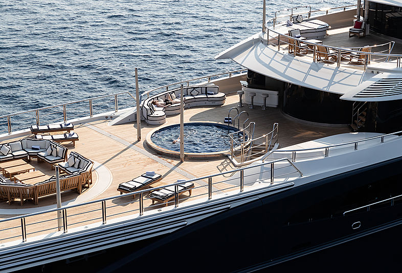 Tranquility yacht exterior