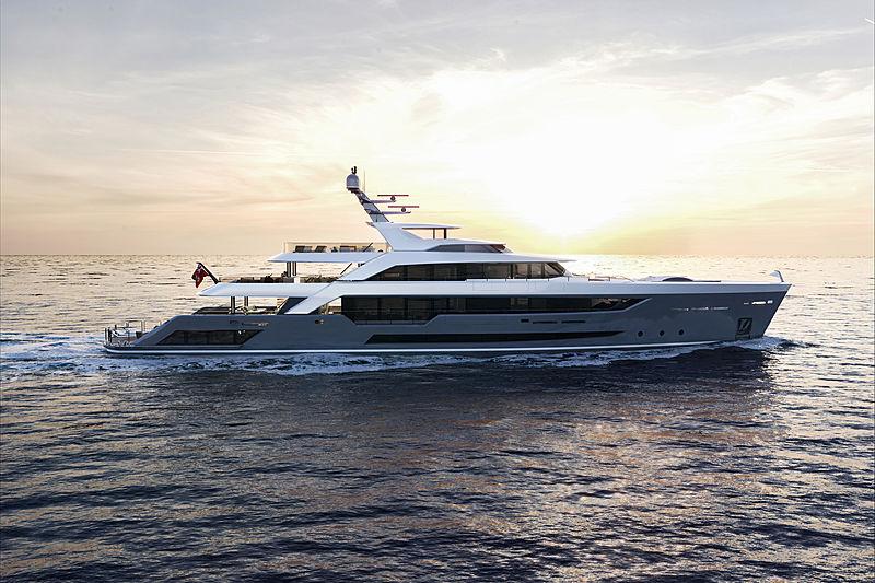 Alia yacht Priject Al Waab II 55m exterior design