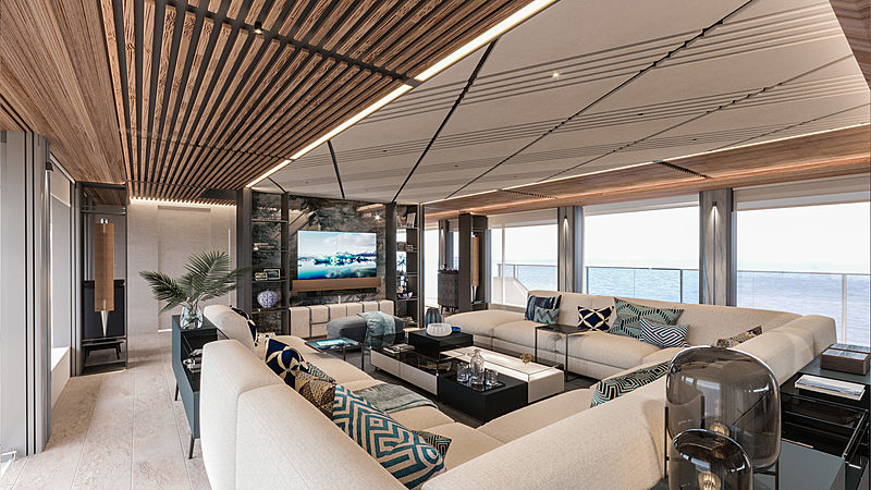 Alia yacht Priject Al Waab II 55m interior design