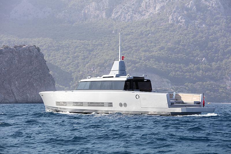 Alia yacht 27m Atlantico