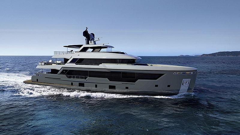 Rosetti yacht RSY 38m Explorer
