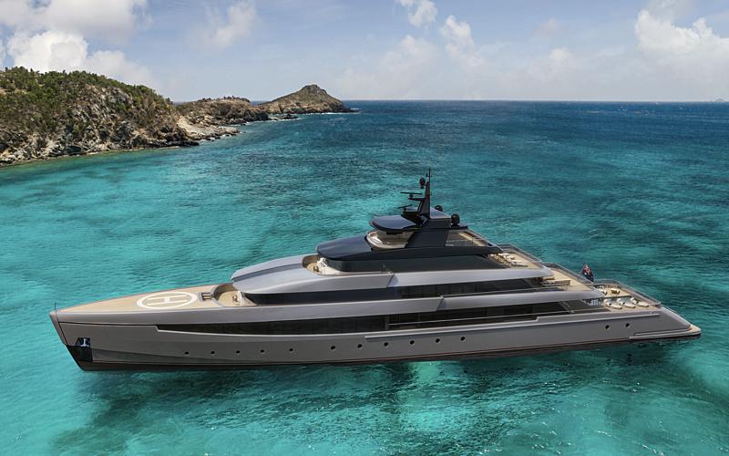 70m Echo Yachts EY70 concept