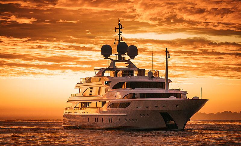 Iman yacht by Benetti in Monaco