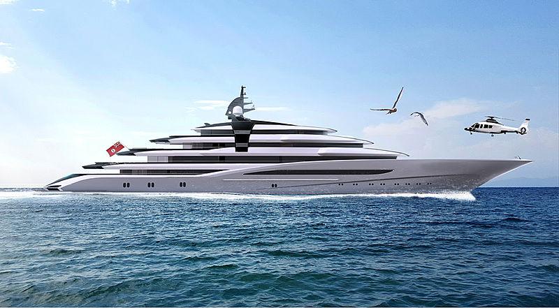 125m Lürssen Project Jag yacht
