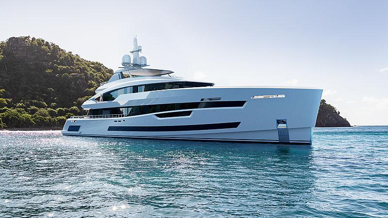 Akira yacht concept by Heesen exterior design