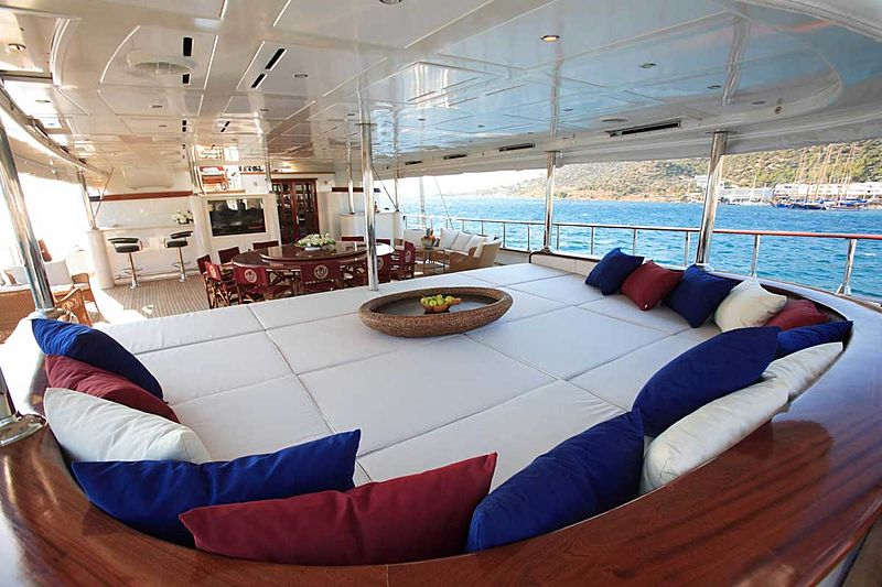 Loretta yacht deck