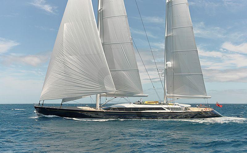 Mondango 3 yacht sailing