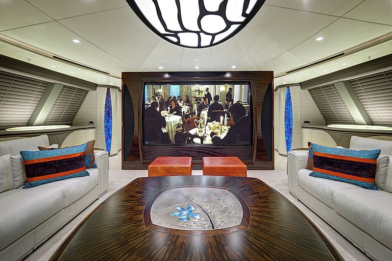 Mondango 3 yacht interior