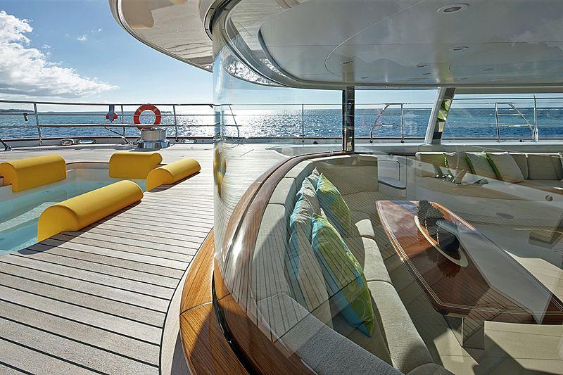 Mondango 3 yacht deck