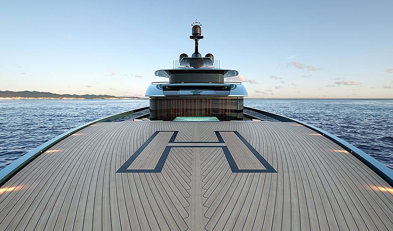 Tankoa Next 70 yacht project exterior design