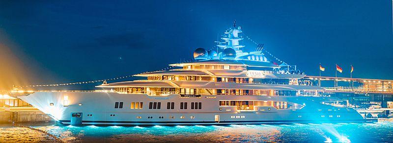 Amadea yacht by Lürssen in Monaco