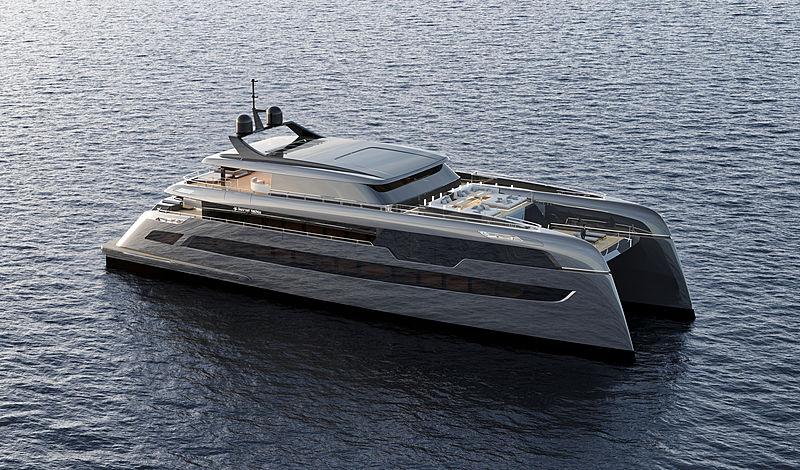 Sunreef 49m yacht exterior design