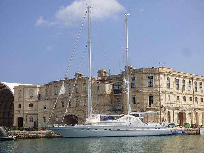 Playmobil yacht in Malta