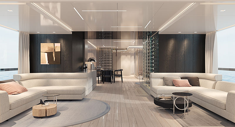 RSY 38m EXP project interior design