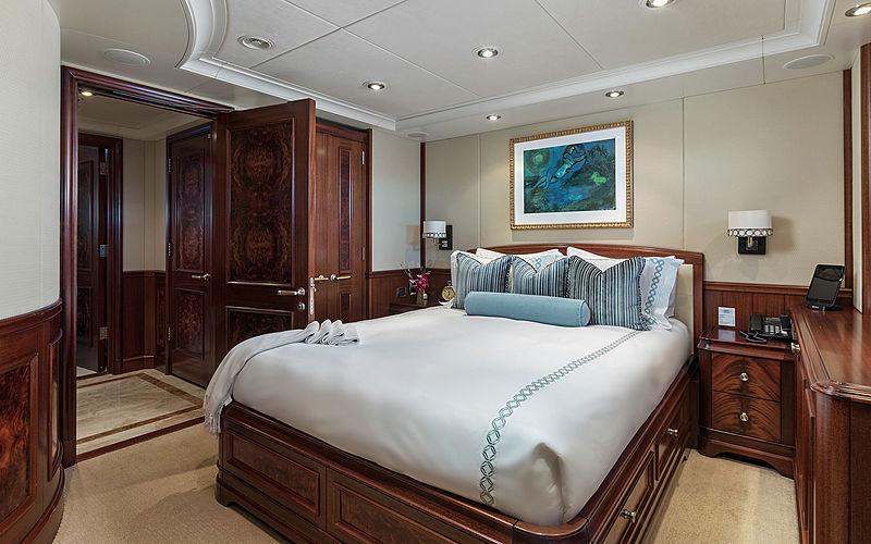 Avalon yacht stateroom
