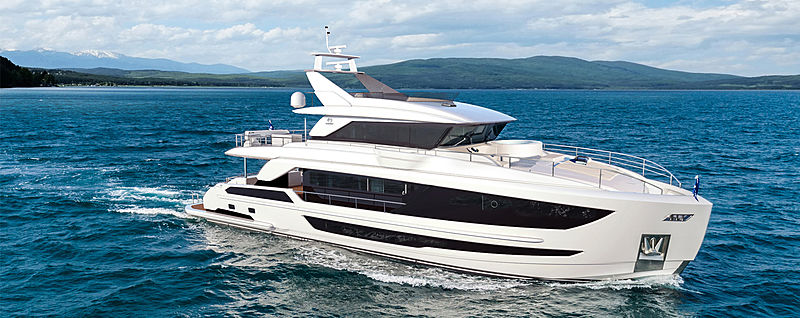 CROWNED EAGLE yacht Horizon