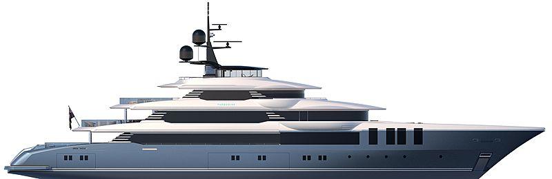 Turquoise 75m exterior design