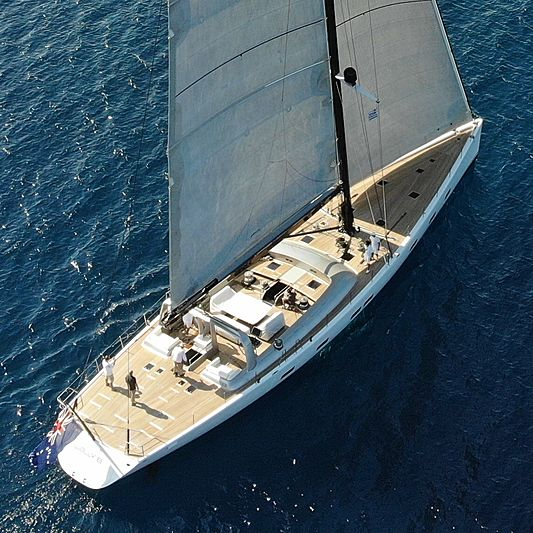 WALLY B yacht Pendennis