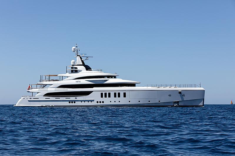 Metis yacht exterior
