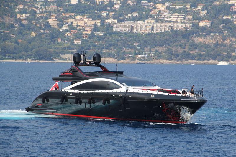 Black Legend Yacht 50m Overmarine 2017 Superyacht Times