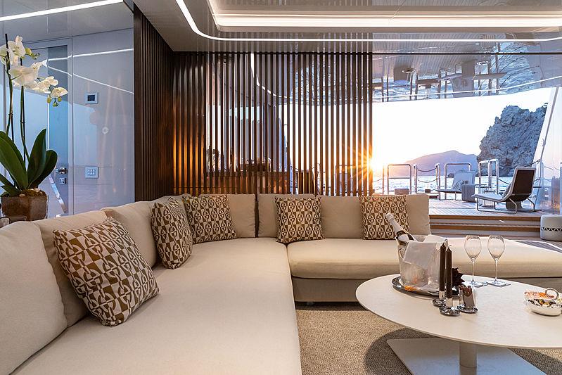 Metis yacht interior