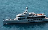 Bold yacht in Menton